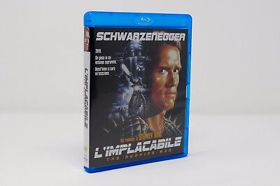L'Implacabile (Blu Ray Edizione Amaray - No Slipcase) Nuovo e Sigillato