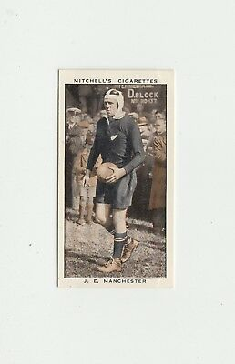 Rugby Union : All Blacks : J E Manchester cigarette card 1936