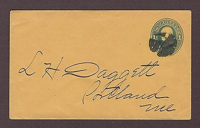 mjstampshobby 1870 US Vintage Cover Used (Lot4834)