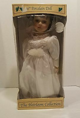 """16"""" porcelain doll The Heirloom Collection"""
