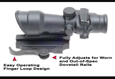 GG&G Accucam Quick Detach  ACOG Mounting Base. Sight Scope Mount. RRP £119