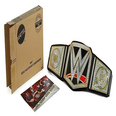 Kids Boys WWE World Championship Belt Heavyweight Belt Full Size Prop Replica