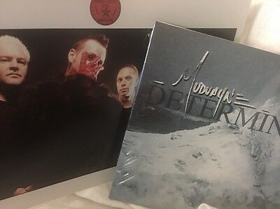 MUDVAYNE New Game Original 8x10/Epic Determined CD -Chad Gray HELLYEAH Lot 2