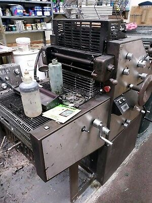 Abdick 9870D Offset Press