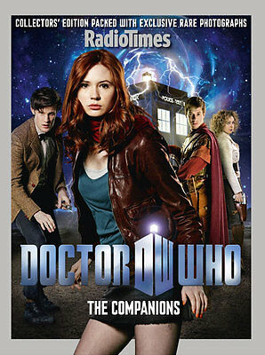 Radio Times Doctor Who  The companions  Bookazine (new)