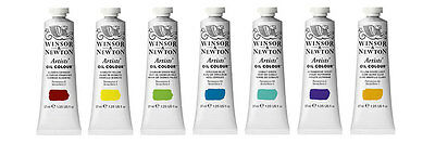 Winsor and Newton Artists' Oil Colour 37ml Tubes - NEW