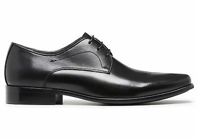 New Julius Marlow Keen Mens Leather Lace Up Dress Shoes