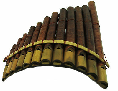 FAIR TRADE INDONESIAN BAMBOO PANPIPES HARMONICA pan pipes  LUK15