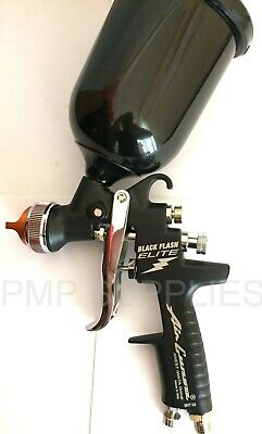 NEW Iwata Black Flash ELITE Very Rare NEW 2019 1.3mm Spray Gun + FREE GIFT