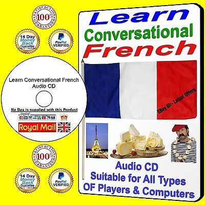 Learn French CD learn conversational French on audio CD learn to speak French