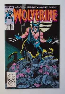 Wolverine #1 (Nov 1988, Marvel)  9.4 NM