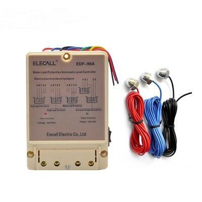 Water Automatic Level Controller 10A Electronic Water Liquid Level Detection