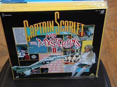 Captain Scarlet and the Mysterons II Laserdisc LD JAPAN