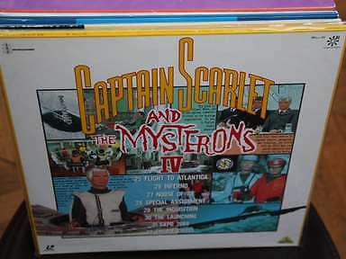Captain Scarlet and the Mysterons IV Laserdisc LD JAPAN