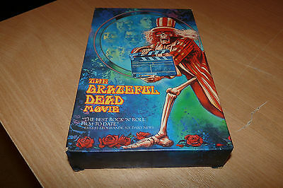 THE GRATEFUL DEAD MOVIE - SPECIAL VHS RELEASE WITH BOX AND INSERT by HENDRING