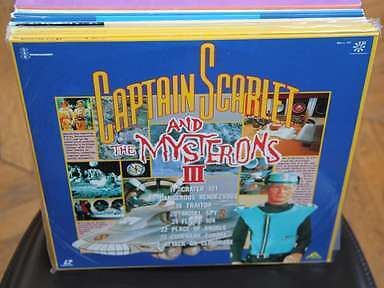 Captain Scarlet and the Mysterons III Laserdisc LD JAPAN