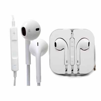 Earphones Earbud Headset Headphone with Mic Control for Apple iPhone 5 iPhone 6