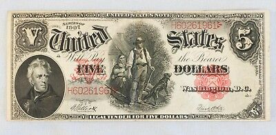 1907 $5 United States Note