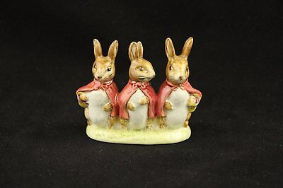 Beatrix  Figurine Flopsy Mopsy Cottontail Collectible Vintage