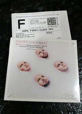 BRAND NEW, SEALED Kings of Leon WALLS CD with lyric book.