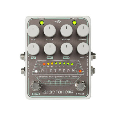 Electro Harmonix Platform Stereo Compressor/Limiter Pedal (NEW)