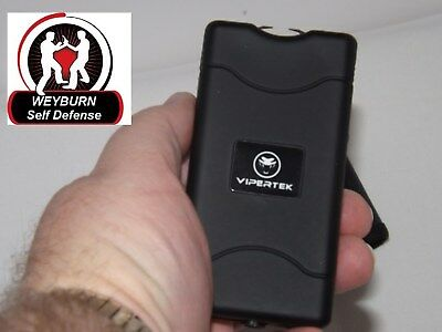 VIPERTEK VTS-880 - 400,000,000 Mini Stun Gun Rechargeable with LED...