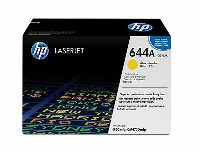 HP 644A Colour LaserJet Original Toner gelb Standardkapazität 12.000