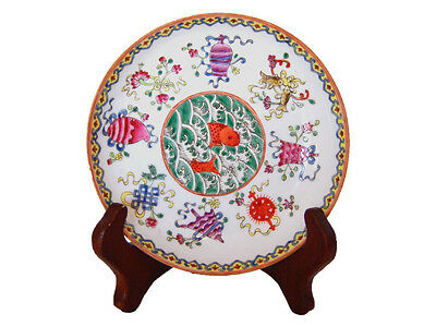 Small Chinese Porcelain Plate; Guangxu Mark & Period; Remarkable Condition