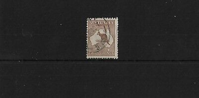 Australia Sg41, 2/- Brown Good Used