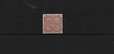 NEWFOUNDLAND SG19A, 5d RED-BROWN FRESH MOUNTED MINT 4 MARGINS, CAT £90