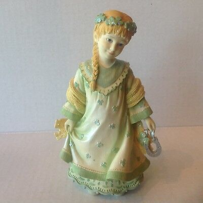"""Angels Among Us """"Good Luck"""" Figurine by Betty Singer 2003"""
