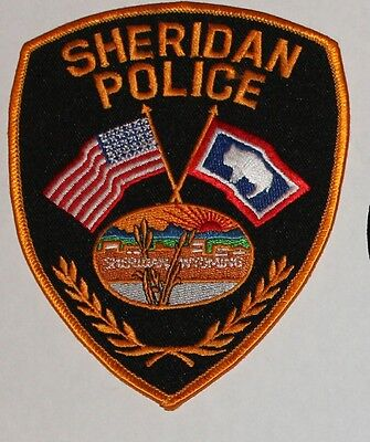 SHERIDAN POLICE Wyoming WY PD patch