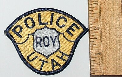 ROY POLICE Utah UT PD Small Hat patch
