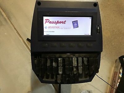Passport Stenography Machine