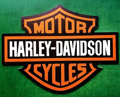 Harley-Davidson sign (green backing not part of sign)