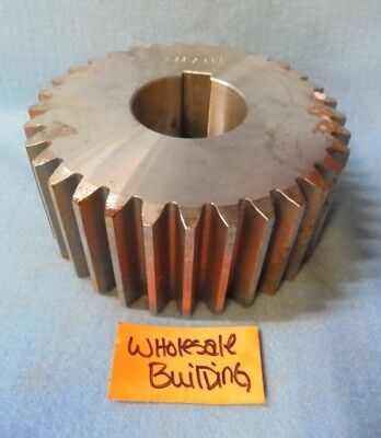 "Spur Gear,  1-15/16"" Bore, 2-3/8"" Face, 33 Teeth,  5-1/2"" Od,    422 0222"