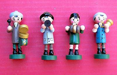 Black Forest  made  all wood boys music  band set  for a cuckoo clock front.