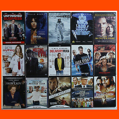 LOT of 15 DVDs Newer Titles Popular & Indie Movies good condition used dvds  043
