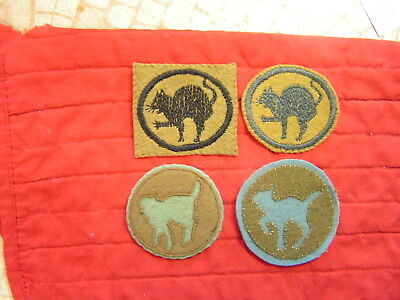 81St Division  Four Different Ones - Patches