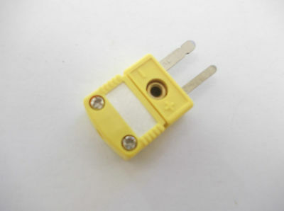 5pcs TYPE K THERMOCOUPLE MINI CONNECTOR  PLUG  , FLAT PIN
