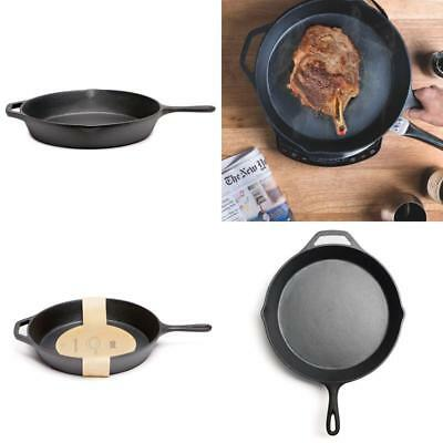 Pre Seasoned Cast Iron Skillet 12 Inch Classic Cast Iron Frying Pan  Brand New