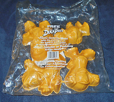 Vintage 1989 Disney Duck Tales Jello Molds  Factory Sealed