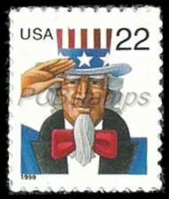 US #3259  22c Uncle Sam, 1998, MNH, (PCB-1)