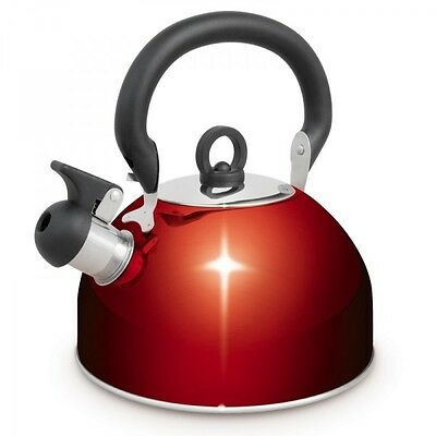 Campfire 765004B -Stainless Steel Whistling Kettle 4L Capacity