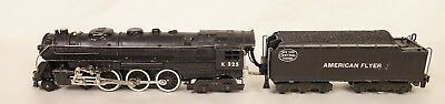 American Flyer #k 325 New York Central Hudson 4-6-4 Loco & Tender-Vg+ Orig!