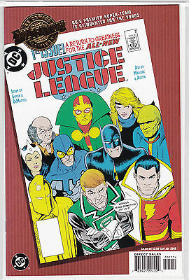 Justice League #1 Dc Comics Millennium Edition -- First Appearance Maxwell Lord