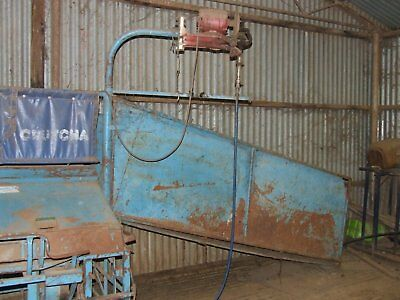 farm crutching machine