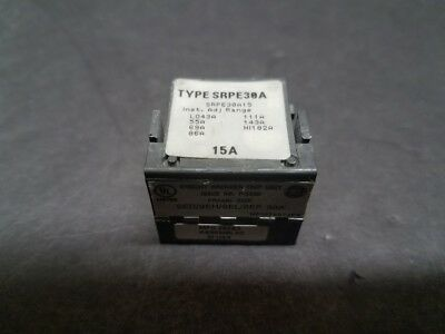 USED General Electric GE SRPE100A100 100 Amp Spectra Rating Plug EOK