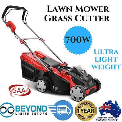 Lawn Mower Cordless Lawnmower Lithium Battery Powered Electric Grass Cutter Push
