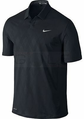 Nike Tiger Woods Collection TW Seasonal Emboss Polo 619759 Small - NEW